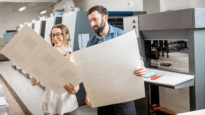 dedicated print advisers